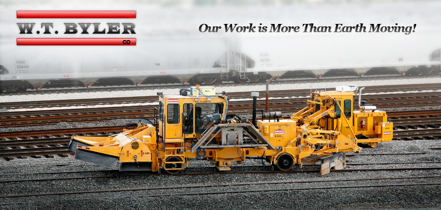 WT Byler : Railroad Construction and Maintenance